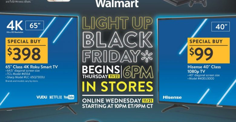 Black Friday 2018 Walmart deals: Half-price Roku Ultra, $99