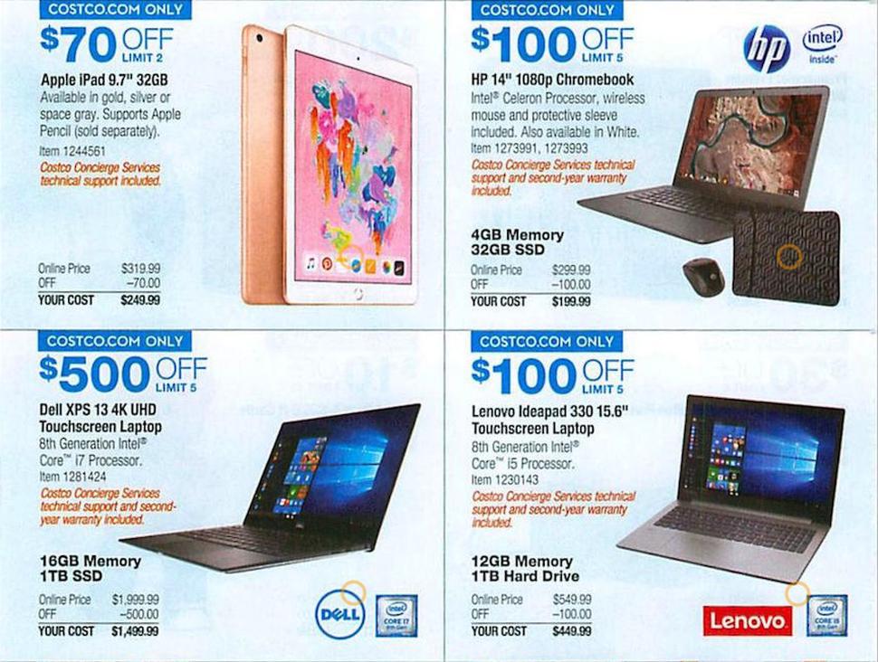 Costco Black Friday 2018 deals: $800 Surface Pro bundle