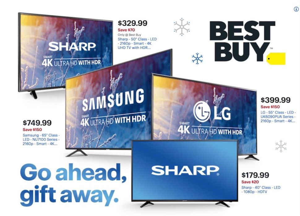 Best Buy rings in Cyber Monday with discounts on Samsung's