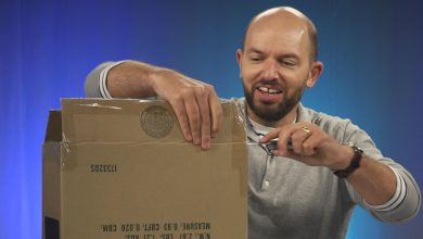 Photo of Paul Scheer unboxes his 'elusive childhood toy' – Video