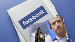 Photo of Facebook's seized files published by MPs