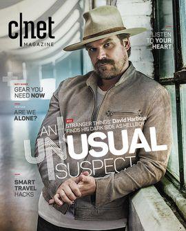 CNET Magazine Winter 2018 David Harbour