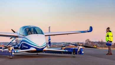 Photo of Boeing's flying car lifts off in race to revolutionize urban travel