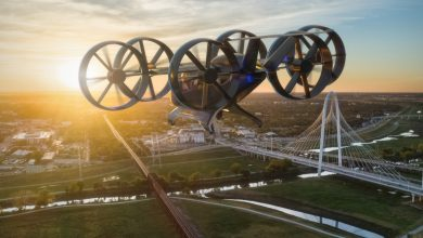 Photo of Bell's hybrid-electric flying car will be available via Uber by the 'mid-2020s'