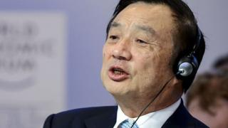 Photo of Huawei founder Ren Zhengfei denies firm poses spying risk