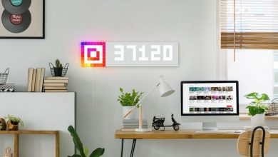 Photo of LaMetric dazzles with multi-color LED wall panels at CES 2019
