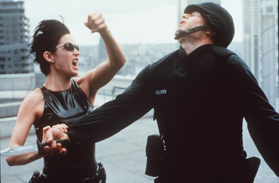 Carrie Anne Moss Stars In The Matrix 1999 Warner Bros And Village Roadshow Film