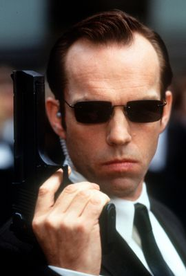 Hugo Weaving In 'The Matrix