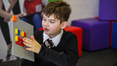 Photo of Lego Braille Bricks put the alphabet at blind kids' fingertips