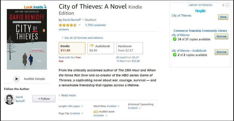 This Browser Extension Shows You Which Amazon Books Are
