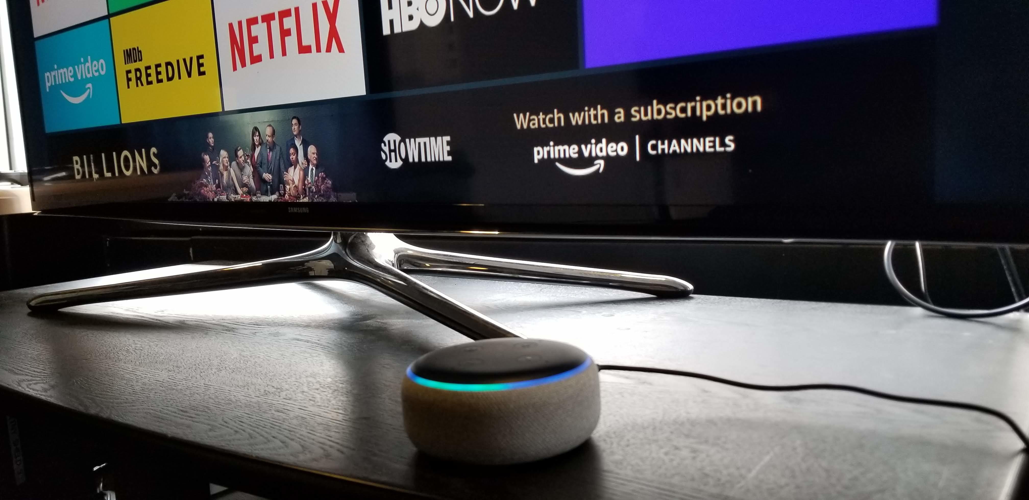 Amazon Fire TV echo alexa