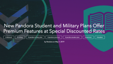 Photo of Pandora unveils discounts for students and military