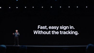 Photo of Apple: our sign-on service doesn't track you like Google, Facebook
