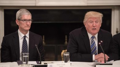 Photo of Tim Cook warns Trump that China tariffs would hurt Apple and help Samsung