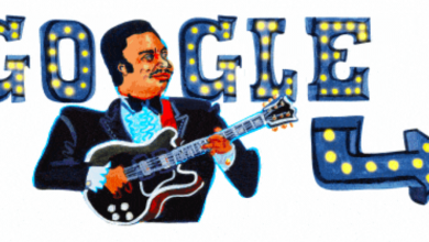 Photo of Google Doodle celebrates B.B. King's 94th birthday