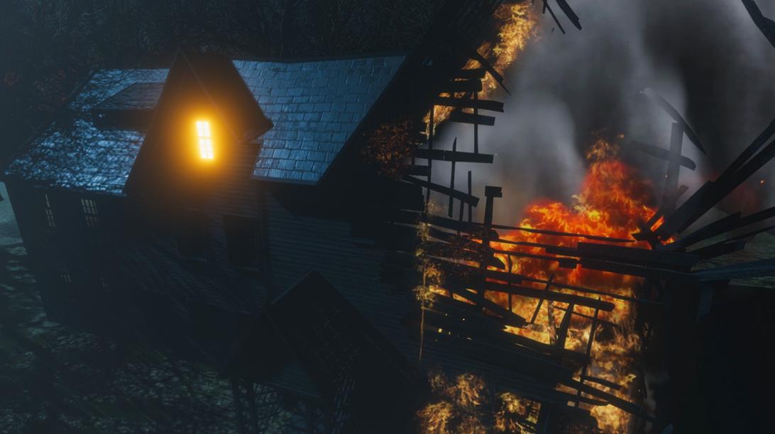 Midnight in Salem fire