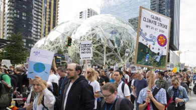 Photo of Amazon allegedly threatened to fire employees for speaking out on climate change