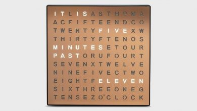 Photo of Get this insanely cool Sharper Image Word Clock for $21