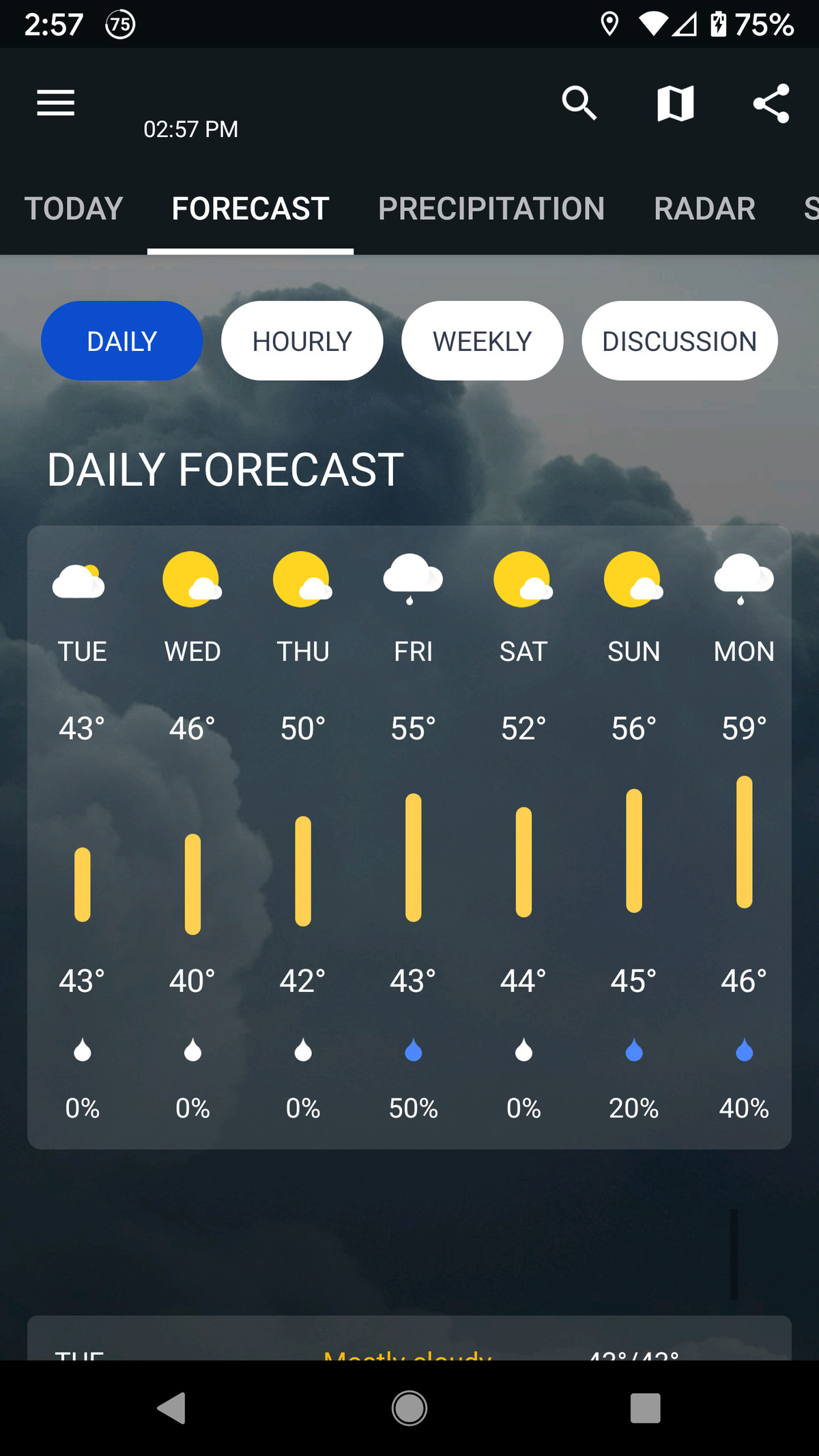1Weather gets its info using the Weather2020 platform.