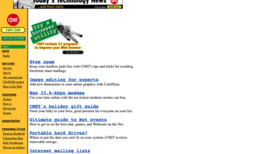 Photo of Before the cats came: 1995's web leaves me nostalgic for simpler times