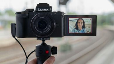 Photo of Panasonic's new Lumix G100 vlogging digital camera adds Nokia Ozo spatial audio to the mix