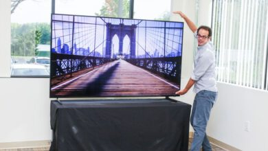Photo of TVs over the years have grown cheaper, smarter and much bigger