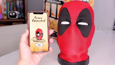 Photo of Marvel Legends Deadpool&#039s Quality Interactive Head unboxing online video