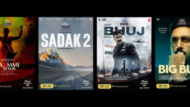 Photo of Disney+ Hotstar Unveils Six Bollywood Movies, Exclusively for Streaming