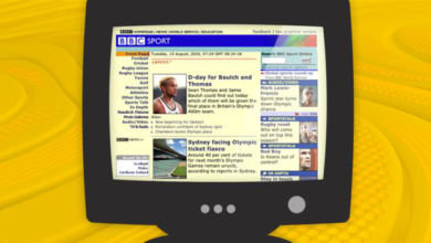 Photo of BBC Sport website at 20: How the site has changed over the past two decades