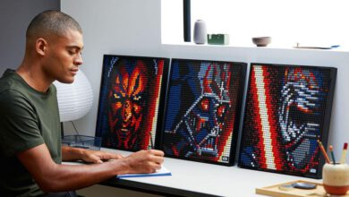 Photo of Lego launches model new 'posters' you can develop, like Darth Vader, Iron Gentleman, Marilyn Monroe and far more