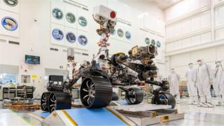 Photo of Nasa Mars rover: Perseverance robot poised for launch