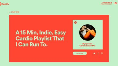 Photo of Spotify will now make you a custom exercise session playlist