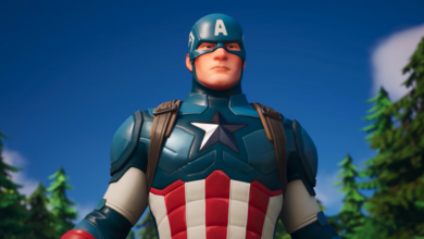 Photo of Captain The usa is now in Fortnite