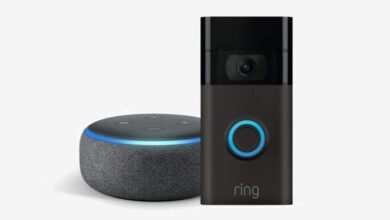Photo of Watch your front porch with the Ring Video Doorbell for $80 and get a free Echo Dot