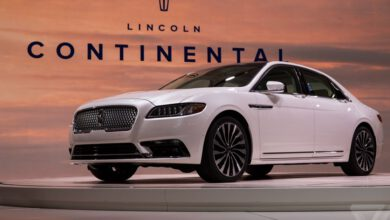 Photo of Lincoln cancels the Continental once again mainly because the US is hooked on SUVs