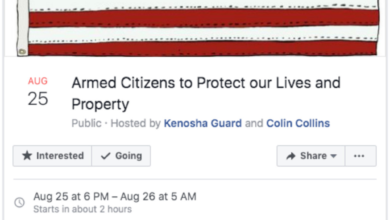 Photo of Facebook normally takes down 'call to arms' event just after two shot lifeless in Kenosha