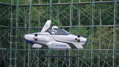 Photo of Japan's SkyDrive 'Flying Car' Successfully Carries Out Manned Examination Flight