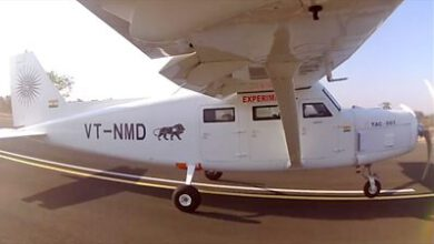 Photo of Airplane built on Mumbai rooftop normally takes to the skies