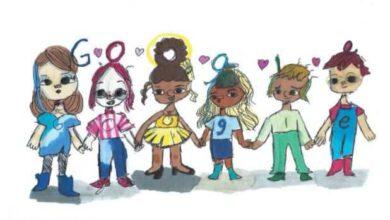 Photo of Google Doodle: 5th grader wins '2020 Doodle for Google' for spreading kindness