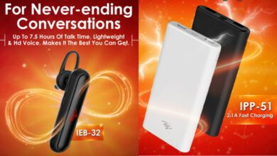 Photo of Itel IEB-32 Bluetooth Headset, IPP-51 10,000mAh Electricity Bank Released in India