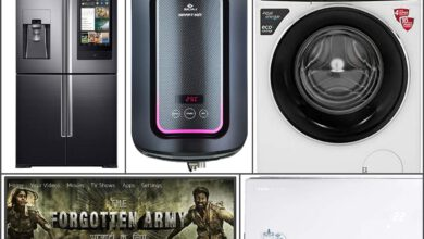 Photo of Amazon sale: Smart washing machine, Television set, AC and refrigerator from LG, Samsung and other people at up to 75% low cost