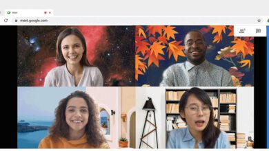 Photo of Google Meet will now allow you use custom made backgrounds on video clip calls