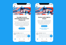 Photo of Twitter is adding an anti-misinformation banner before the election