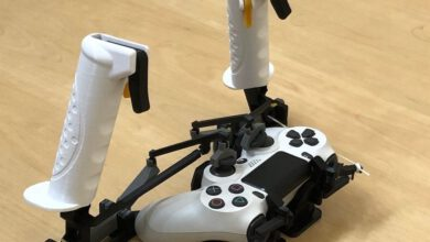 Photo of Charming Diy challenge adds 3D-printed joysticks and triggers to a PS4 controller