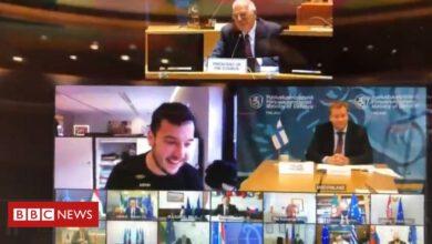 Photo of Dutch journalist gatecrashes EU defence online video meeting